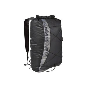 MOCHILA ULTRA SIL DRY DAYPACK 22L PRETO/CINZA SEA TO SUMMIT