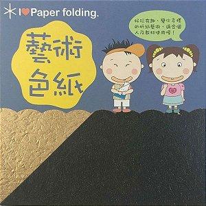 Papel P/ Origami 15x15cm Dupla Face EPG-02 (10fls)