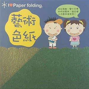 Papel P/ Origami 5x5cm Dupla Face EPG-05 (30fls)