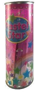Papel p/ Origami 15x0,7cm Pastel Star DP25K102/DP31K2 (260fls)