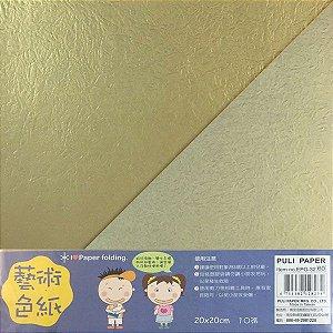 Papel p/ Origami 20x20cm Dupla-Face EPG-32 (10fls)