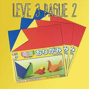 Papel P/ Origami 15x15cm (KOW-002) - 414053 -10115-200 (35fls) - Leve 3 Pague 2