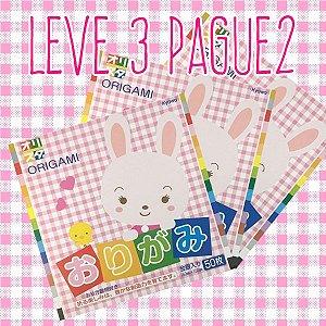 Papel P/ Origami 15x15cm Liso Face Única 16 Cores S-202 (50fls) - Leve 3 Pague 2