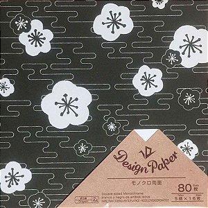 Papel Origami 15x15cm Dupla-Face Design Paper D-045 No. 64 (80fls)