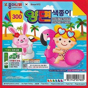 Origami 15x15 Dupla-Face 6 fls AEK00085 Jong Ie Nara