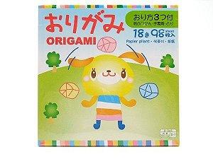 Papel P/ Origami 15x15cm D-045 D-1 (98fls)