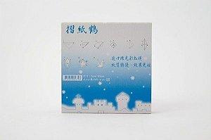Papel P/ Origami 5x5cm Iridescente Face Única LW-021