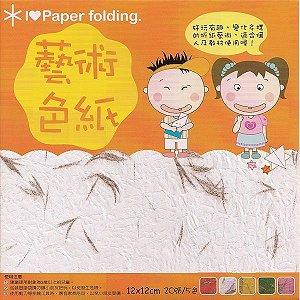 Papel P/ Origami 12x12cm Dupla-Face EPN002 (20fls)