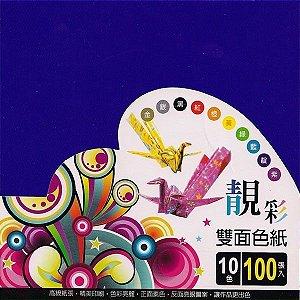 Papel P/ Origami 15x15cm PP-24027 (100fls)