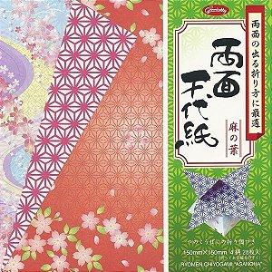 Papel P/ Origami 15x15cm 23-2033-200 Ryomen Chiyogami Asanoha (28fls)