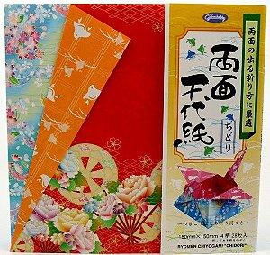 Papel P/ Origami 23-2058-200 Ryomen - Grimmhobby (28fls)