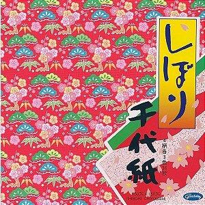 Papel P/ Origami 15x15cm 23-1945 Shibori Washigami (36fls)