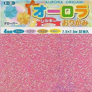 Papel P/ Origami Aurora 7,5x7,5 Toyo (32fls)