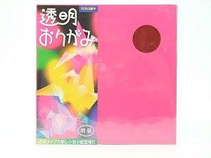 Papel P/ Origami Plástico Translúcido - Komoda (21fls)