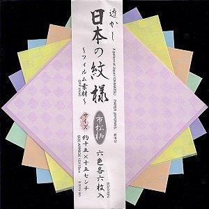 Papel P/ Origami 15x15cm Ichimatsu D-109 (36fls)