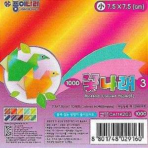 Papel P/ Origami 7,5x7,5cm Estampado Face Única CA11K203 (120fls)