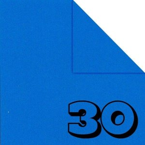 Papel P/ Origami 15x15cm Liso Dupla Face Azul AC11Y5-6 (30fls)