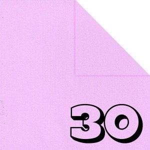 Papel P/ Origami 15x15cm Liso Dupla Face Rosa Claro AC11Y5-8 (30fls)