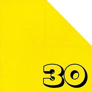 Papel Origami 15x15cm Liso Dupla Face Amarelo AC11Y4-3 (30fls)