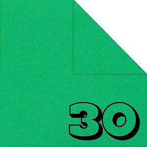 Papel P/ Origami 15x15cm Liso Dupla Face Verde Escuro AC11Y5-5 (30 Fls)