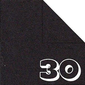 Papel P/ Origami 15x15cm Liso Dupla Face Preto AC11Y4-10 (30fls)