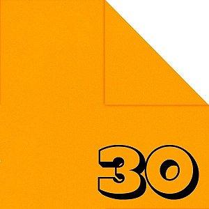 Papel de Origami 15x15cm Liso Dupla-face Laranja AC11Y5-2 (30fls)