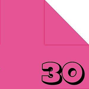 Papel de Origami 15x15cm Liso Dupla Face Rosa Escuro AC11Y5-7 (30fls)