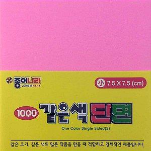 Papel P/ Origami 7,5x7,5cm AC21D5-23 Rosa (80fls)