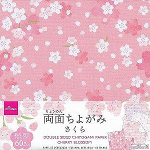 Papel de Origami 15x15 Dupla Face Sakura (60fls)