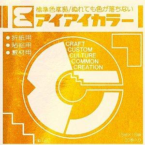 Papel P/ Origami 15x15cm Dourado No. 120 - 49 (100fls)