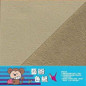 Papel para Origami 15x15cm Dupla Face 10 Folhas
