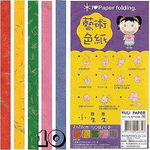 Papel para Origami 2x28cm Puli Paper EPN008 (50fls)