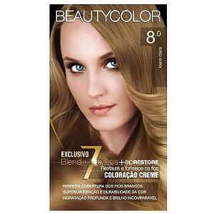 Tintura Beauty Color 8.0 Louro Claro