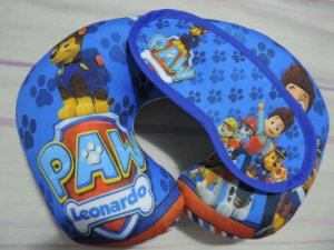 Kit Almofada Pescoço Infantil com mascara dormir