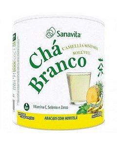 Chá Branco 250g - Abacaxi com Hortelã - Sanavita