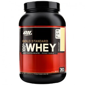 100% Gold Standard Whey Protein - 909g - Baunilha - Optimum