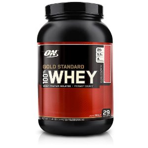 100% Gold Standard Whey Protein - 909g - Morango - Optimum