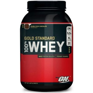 100% Gold Standard Whey Protein - 909g - Chocolate - Optimum