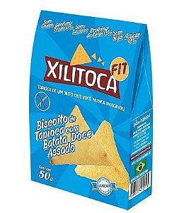 Xilitoca Fit com Batata Doce 50g - Pão de Tapioca