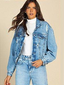 Jaqueta Oversize Jeans