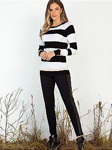 Suéter em Tricot