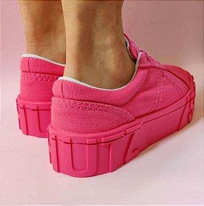 Tênis Schutz Pink Sola Alta Cadarço