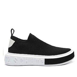 Tênis Sneaker Schutz Bold Knit Preto
