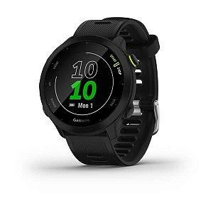 Relógio Garmin Forerunner 55 Monitor Cardíaco Preto