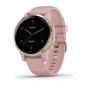 Relogio Garmin Smartwatch Gps Vivoactive 4s pink