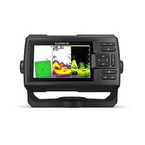 Gps Sonar Garmin Fishfinder Striker 5cv Vivid + Transducer