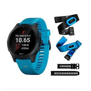 Relógio Smartwatch Forerunner 945 Music Bundle + HRM