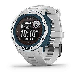 Smartwatch Gps Garmin Instinct Surf Solar Branco