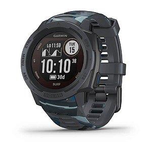 Smartwatch Gps Garmin Instinct Surf Solar Preto
