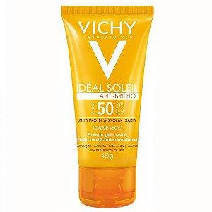 Protetor Solar  Vichy IDÉAL SOLEIL ANTIBRILHO FPS 50- 40G